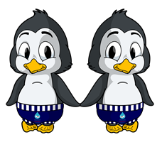 Twins Penguins
