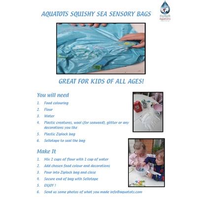 Squishy Sea Sensory Bags