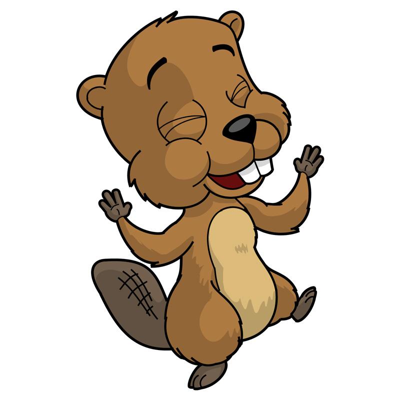 Barney The Happy Beaver