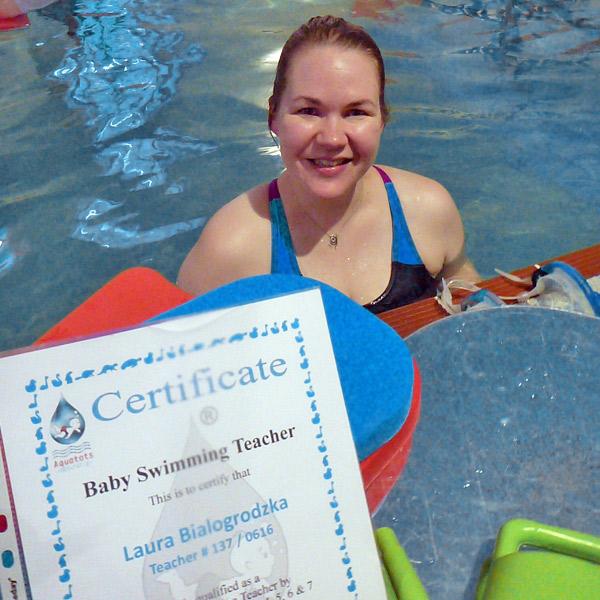 Laura : baby teacher certificate
